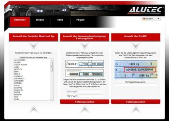 ALUTEC disku konfigurators