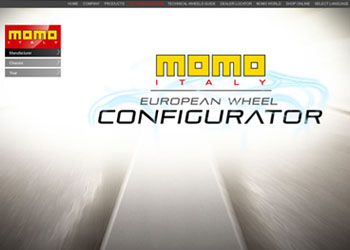 MOMO disku konfigurators